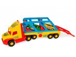 Super Truck с авто-купе, 78 см, Wader
