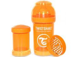 Антиколиковая бутылочка 180 мл, оранжевая, Twistshake