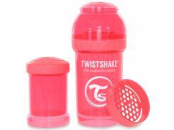 Антиколиковая бутылочка 180 мл, персиковая, Twistshake