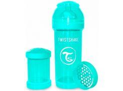 Антиколиковая бутылочка 260 мл, бирюзовая, Twistshake
