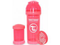 Антиколиковая бутылочка 260 мл, персиковая, Twistshake