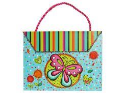Блокнот-сумочка на магните, Бабочка, Malevaro