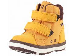 Ботинки детские Patter Wash, темно-желтые, Lassie by Reima (32)