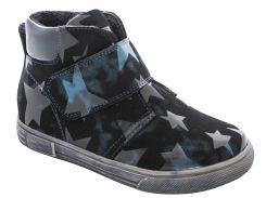Ботинки для девочек 5518-1635, синие, Lapsi (Arial) (28)