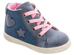 Ботинки для девочек синие, Lapsi (Arial) (21)