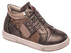 Ботинки для девочек, серые, Lapsi (Arial) (30)