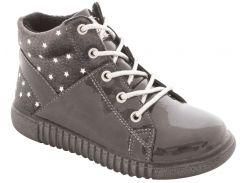 Ботинки для девочек, серый цвет, Lapsi (Arial) (27)
