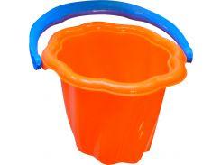 Ведерко для песка Волна (красное), Numo toys