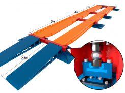 Весы модульные автомобильные Стандарт (модули 6-6-6-6 м, 10 датчиков), Elvest