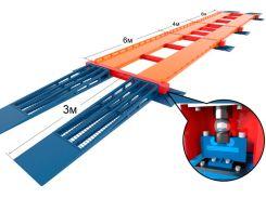 Весы модульные автомобильные Эконом (модули 6-6-4-6 м, 10 датчиков), Elvest