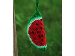 Вязаная игрушка Арбуз, EcoWalnut