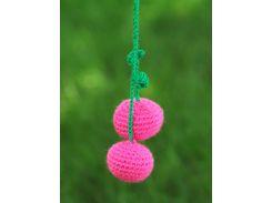 Вязаная игрушка Вишня, EcoWalnut