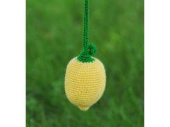 Вязаная игрушка Лимон, EcoWalnut