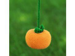 Вязаная игрушка Мандарин, EcoWalnut