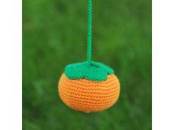 Вязаная игрушка Хурма, EcoWalnut