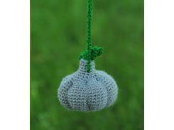 Вязаная игрушка Чеснок, EcoWalnut