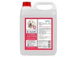 Глубоко очищающий малопенный шампунь для собак Супер Актив (5 л),DazhBO