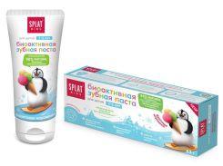 Детская зубная паста Kids, 2-6 лет, фруктовое мороженое, 50 мл, Splat
