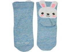 Детские носки с зайчиком, Duna, голубой, 08-10