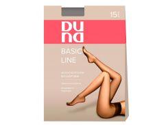 Женские колготы без шортиков 15 Den, Duna, бежевый (размер 4)