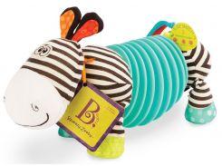Зебра-тянубра, развивающая игрушка (2 музыкальных режима), Battat