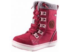 Зимние ботинки детские Reimatec Freddo, вишневые, Lassie by Reima (26)