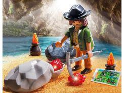 Игровой набор Искатель сокровищ, Playmobil
