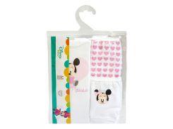 Комплект белья Улыбка, 3 шт., Disney Minnie Mouse, Тигрес (98 р.)