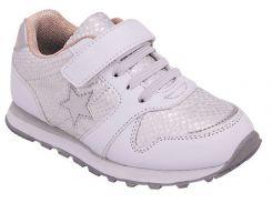 Кроссовки для девочек, белые, Lapsi (27)