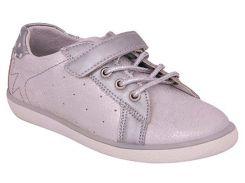 Кроссовки для девочек, серебристые (искуственная кожа), Lapsi (36)