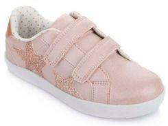 Кроссовки на липучках, розовые, Lapsi (Arial) (35)
