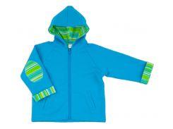 Куртка с капюшоном Машинки, Danaya, голубая (86 р.)