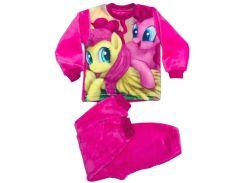 Махровая пижама для девочки, My Little Pony (желтая и фиолетовая), Colibric (30)