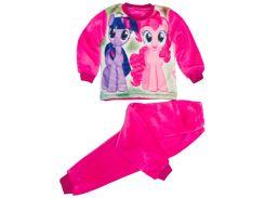 Махровая пижама для девочки, My Little Pony (фиолетовая и розовая), Colibric (28)