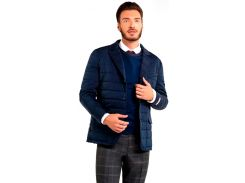 Мужская куртка утепленная, синий, размер L, Dilovyi