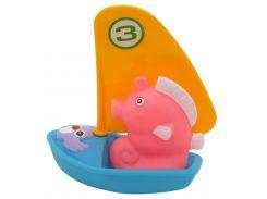 Набор игрушек для ванной Веселый серфер (синий цвет), Baby team
