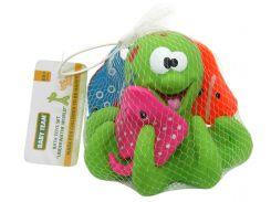 Набор игрушек для ванной Подводный мир (салатовый цвет), Baby team