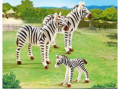 Набор фигурок Семья зебр, Playmobil