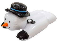 Надувные санки Тюбинг Снеговик (до 120 кг), For Fun