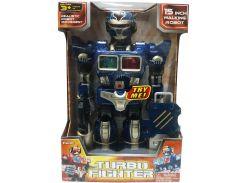 Робот Турбо-боец синий, Hap-p-kid
