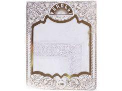 Скатерть 160 на 220, цвет белый, Verolli