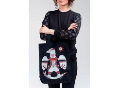 Эко сумка с рисунком орла, Диво