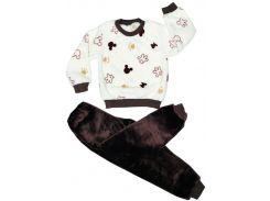 Пижама теплая Микки, велсофт, Colibric (34)