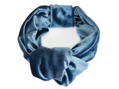 Тюрбан бархатный My Scarf, синий (1023)