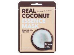 Маска Farm stay тканевая с экстрактом кокоса 23 мл (NF-00009537)