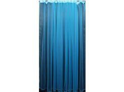 Тюль фатин (500 × 250 см), электрик монохромный, VR-Textil