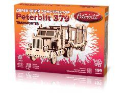 3D конструктор грузовик-тягач Peterbilt Transporter, Зирка