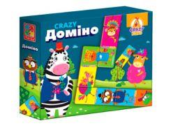 Crazy Домино, настольная игра (укр), Vladi Toys