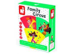 Happy Families Цирк, настольная игра, Janod