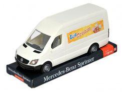 Mercedes-Benz Sprinter грузовой (белый), на планшетке, 1:24, Tigres